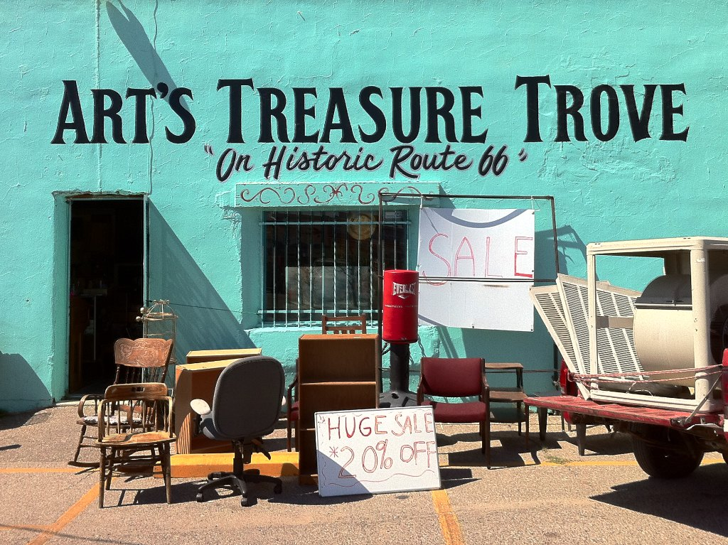 Art's Treasure Trove, Albuquerque, New Mexico